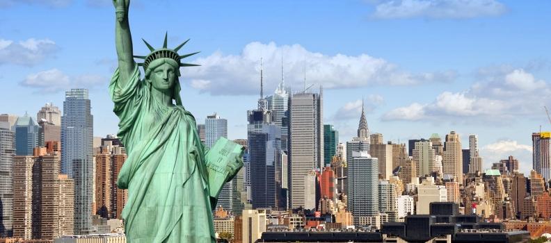 Доставка в Нью-Йорк